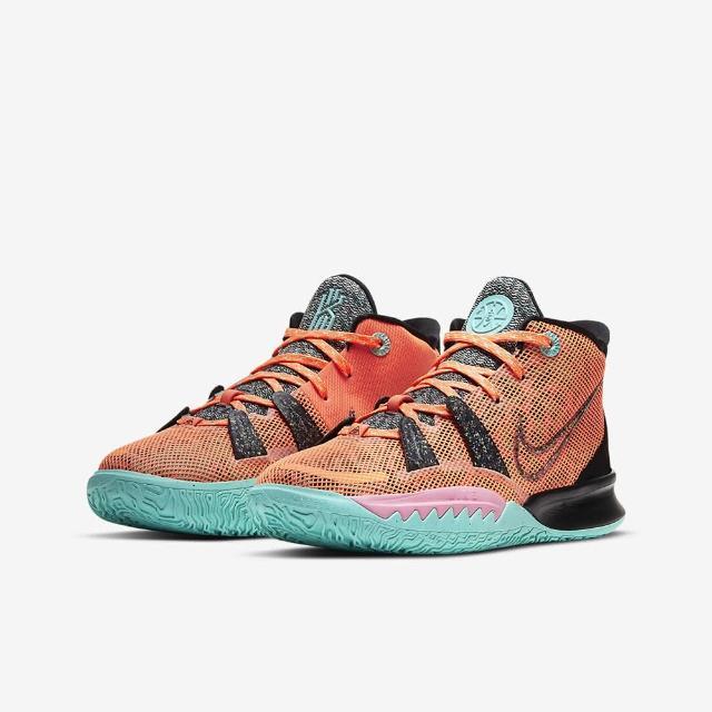 【NIKE 耐吉】KYRIE 7 ASW 男女大童 籃球鞋 橘(CW3235800)