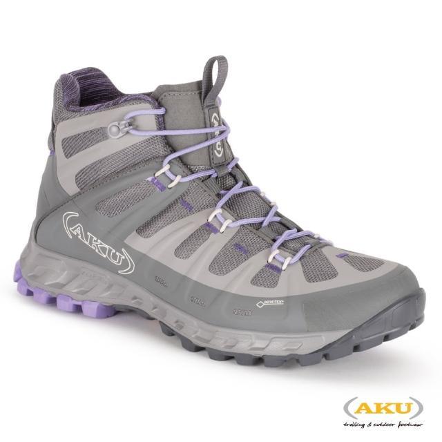 【AKU】女 中筒 多功能輕量健行鞋 灰/紫丁 SELVATICA MID GTX(AK676-180/登山鞋/健行鞋)