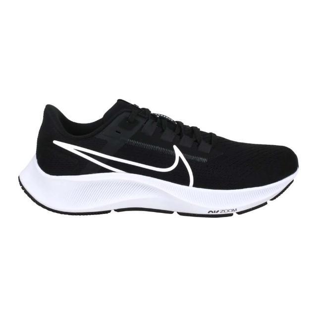 【NIKE 耐吉】AIR ZOOM PEGASUS 38 男運動慢跑鞋- 路跑 飛馬 黑白(CW7356002)