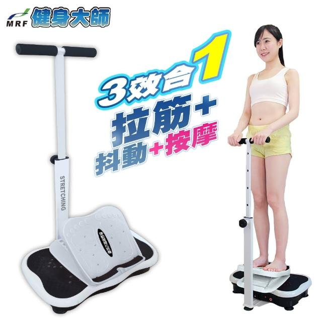 【健身大師】扶手型拉筋律動按摩機(律動機/復健機)