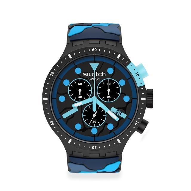 【SWATCH】BIG BOLD系列手錶ESCAPEOCEAN海底任務(47mm)