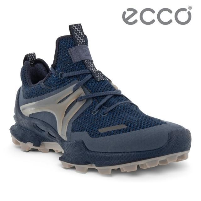 【ecco】BIOM C-TRAIL M 縱橫越野健步運動鞋 男鞋(深藍色 80317454780)