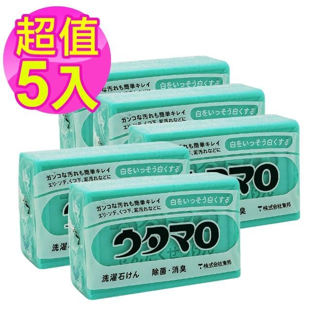 【東邦】UTAMARO 魔法家事洗衣皂133g*5入(衣物去汙皂)