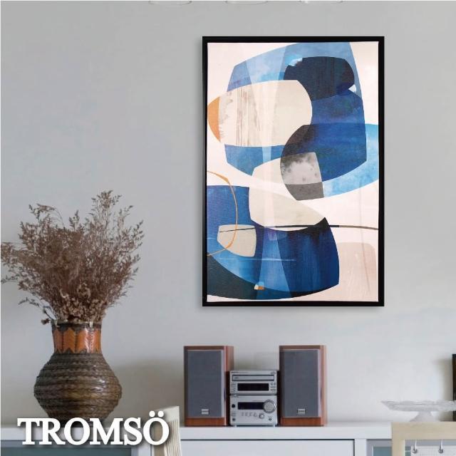 【TROMSO】北歐時代風尚有框畫-碧瓊新轉WA179(無框畫掛畫掛飾抽象畫)