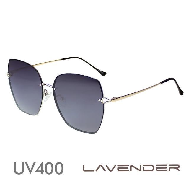 【Lavender】時尚名媛水鑽-神秘灰紫12112-C1(偏光太陽眼鏡)