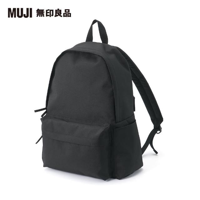 【MUJI 無印良品】可減輕肩膀負擔撥水加工聚酯纖維後背包(共3色)