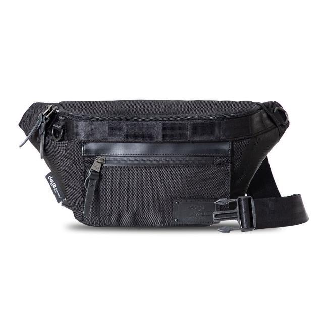 deya【deya】Smart 斯馬特 立體斜跨抗菌二用包(黑色)