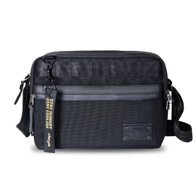 deya【deya】Smart 斯馬特 抗菌斜肩包 大(黑色)