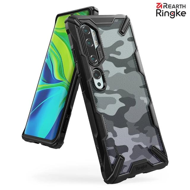 【Ringke】小米 Note 10/10 Pro/CC9 Pro [Fusion X] 透明背蓋防撞手機殼(小米 Note 10/10 Pro 手機殼)