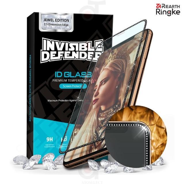 【Ringke】iPhone 11 Pro / Xs / X [ID Glass] 滿版強化玻璃螢幕保護貼(iPhone 保護貼;珠寶飾邊版)