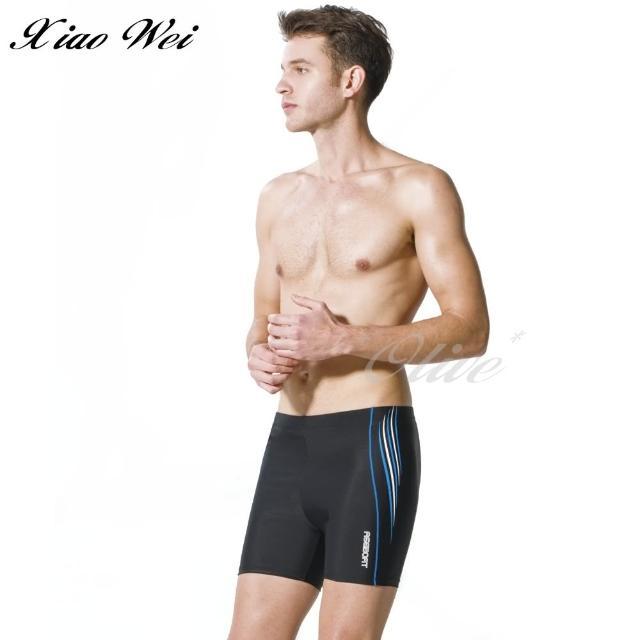 【梅林品牌】大男五分泳褲/四角泳褲(NO.M03128)