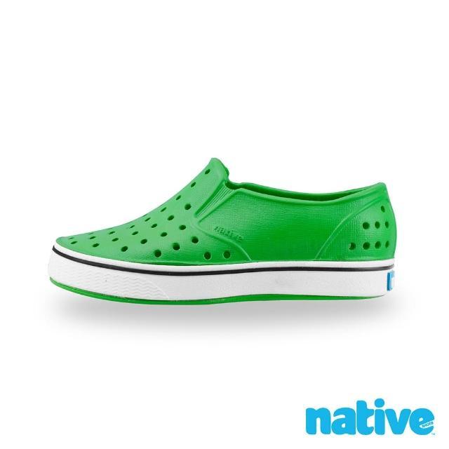 【native】小童鞋 MILES 小邁斯(蚱蜢綠x貝殼白)