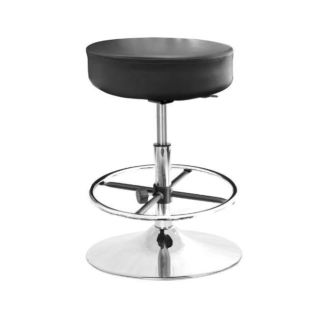 【GXG 吉加吉】圓凳款 工作椅 金屬圓盤+踏圈款(TW-T01 K)