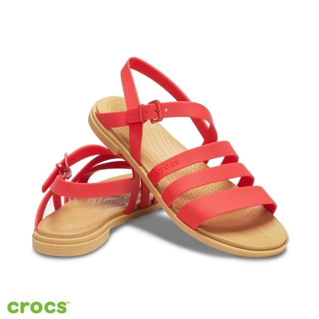 【Crocs】女鞋 Tulum度假風涼鞋(206107-8C1)