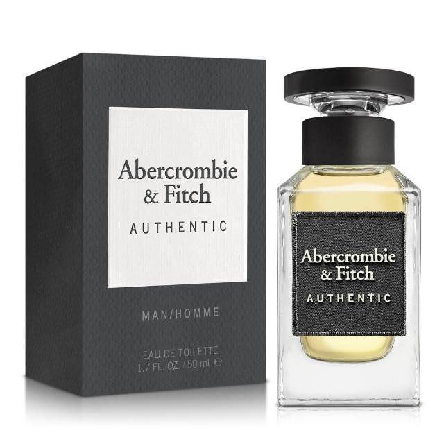 【Abercrombie & Fitch】真我男性淡香水50ml(原廠公司貨)