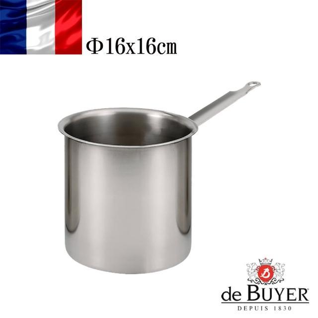 【de Buyer 畢耶】隔水加熱專用不鏽鋼單柄調理盆16cm