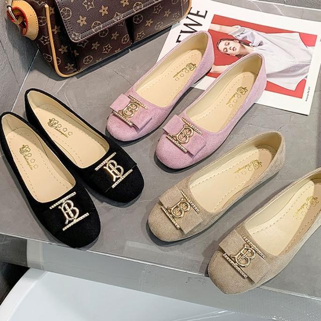 【K.W.】獨賣舒適自在娃娃鞋-通勤鞋/平底鞋(共3色)