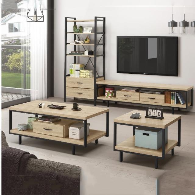 【MUNA 家居】F363型工業風電視櫃組含茶几電視櫃(電視櫃 長櫃 櫥櫃 茶几)