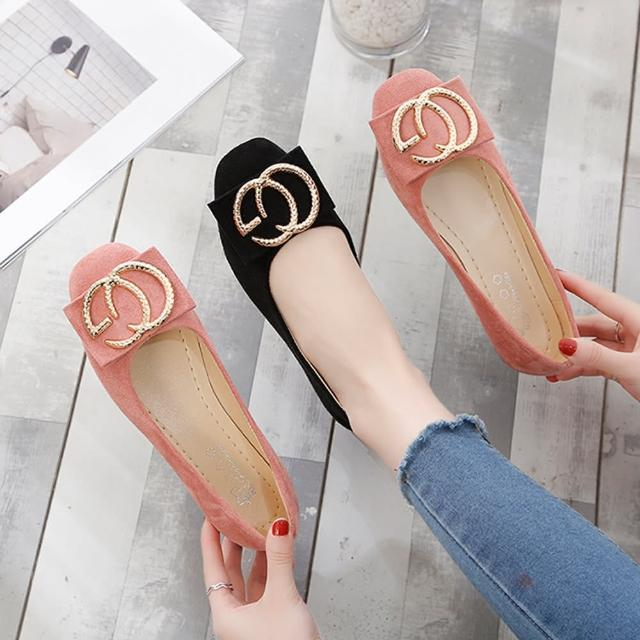 【K.W.】獨賣都會氣質娃娃鞋-通勤鞋/平底鞋(共3色)