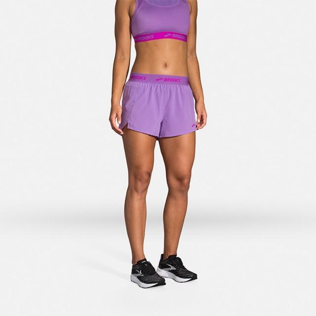 【BROOKS】女 Chaser 3吋慢跑短褲_天芥菜紫/Brooks(221463540)