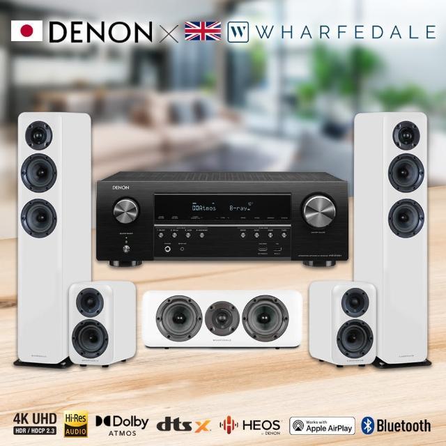 【DENON 天龍】7.2聲道家庭劇院組(AVR-S750H+Wharfedale Diamond D330+D310+D300C)