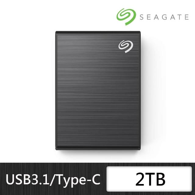 【SEAGATE 希捷】New One Touch SSD 2TB 外接式固態硬碟