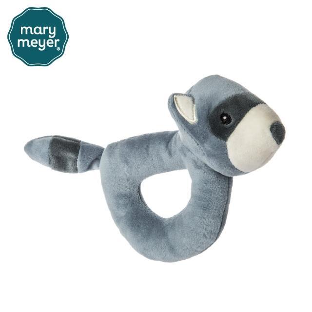 【Mary Meyer】柔軟手搖鈴-忍者小浣熊(沙沙紙 響紙 彌月禮 固齒器)