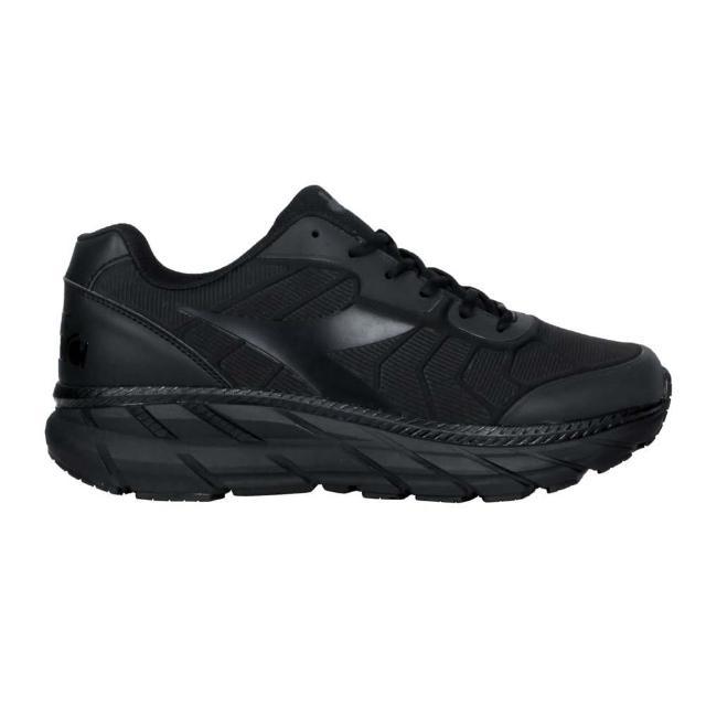 【DIADORA】男專業避震慢跑鞋-超寬楦-路跑 運動 反光 黑(DA71175)