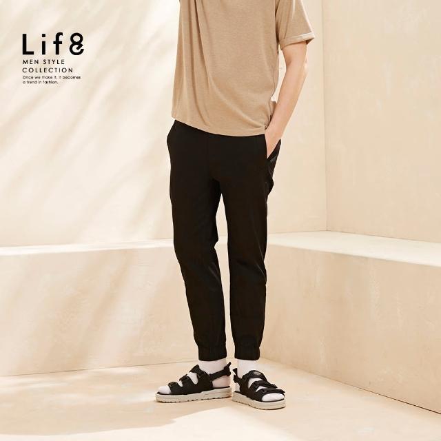 【Life8】Casual 軍風重工 基本縮口長褲(02602)