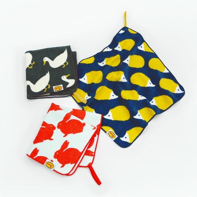 【Marushin 丸真】Anorak 英倫設計款掛繩小方巾(抗菌防臭小方巾)