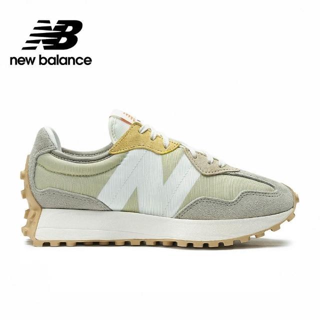 【NEW BALANCE】NB 復古休閒鞋_女鞋_奶茶杏灰色_WS327MS-B楦