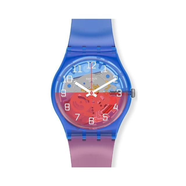 【SWATCH】Gent 原創系列手錶VERRE-TOI 嬉皮世代(34mm)