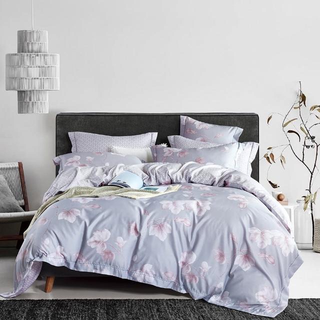 【情定巴黎】吸濕排汗萊賽爾天絲鋪棉兩用被床包組二選一(雙人-一般/獨立筒皆適用)