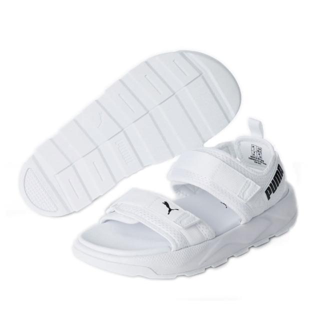 【PUMA】RS-Sandal 男女 Slipper 涼拖鞋 宣美鞋 白色(37486201)