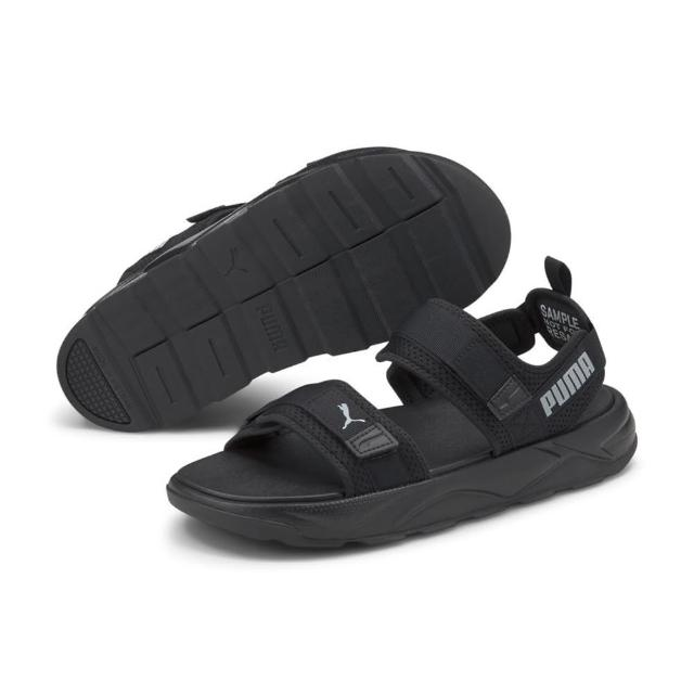 【PUMA】RS-Sandal 男女 Slipper 涼拖鞋 宣美鞋 黑色(37486202)