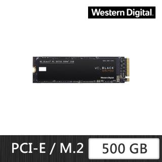 【Western Digital】黑標 SN750_500GB M.2 PCIe 固態硬碟+【LINE MUSIC】FUN 365天禮物卡(鈴聲方案)