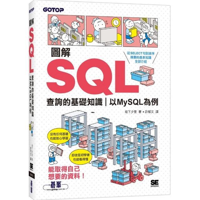 圖解SQL查詢的基礎知識 以MySQL為例