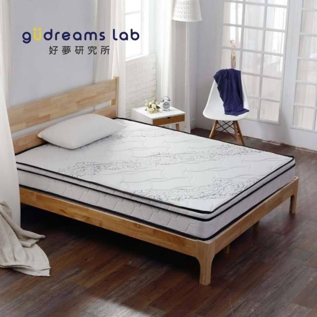 【Tronlife 好床生活】G08-4線加厚防瞞乳膠獨立筒|雙人特大7尺(針織舒柔布)