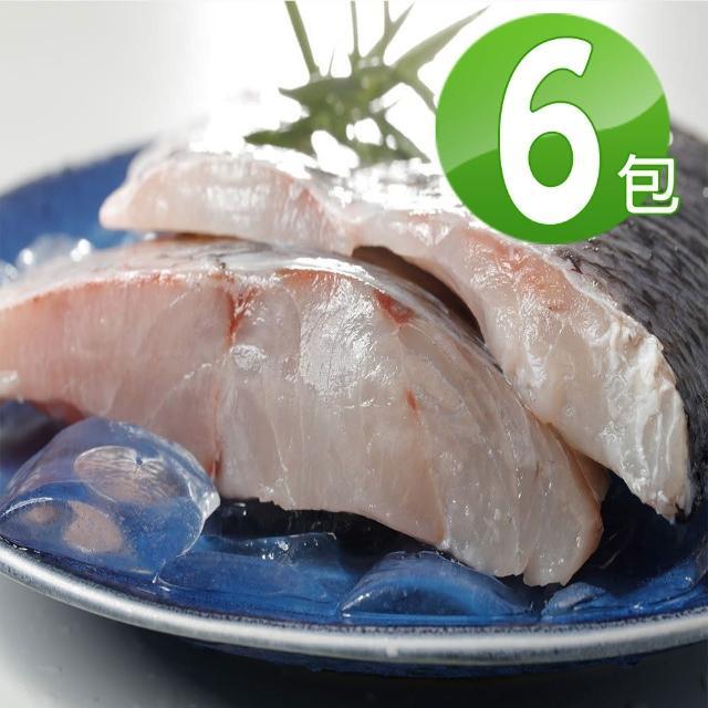 【華得水產】嚴選台灣鱸魚6片組(250-300g/片)