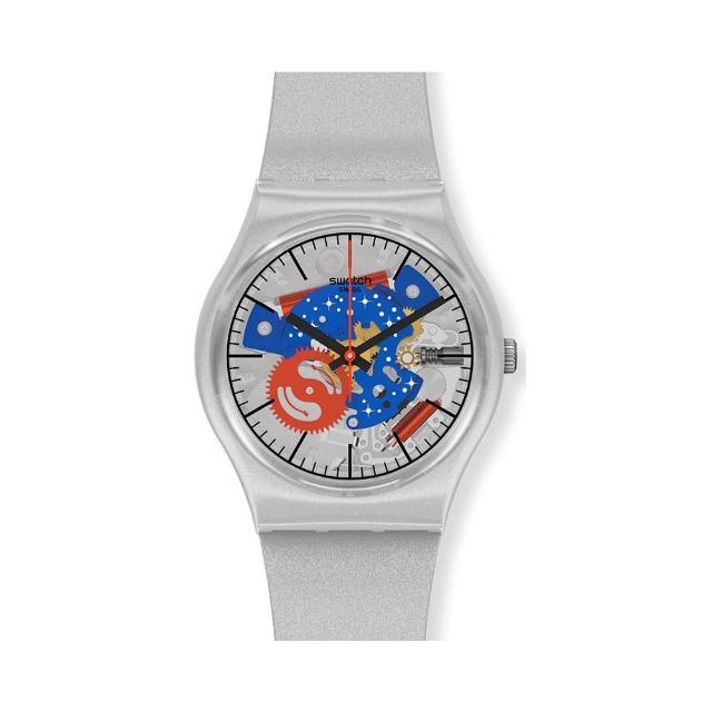 【SWATCH】NASA限定聯名款 Gent 原創系列手錶TAKE ME TO THE MOON 星際迷航 NASA(34mm)
