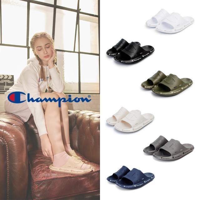 【Champion】男/女 拖鞋 防水運動拖鞋 UFO SILDE(共4色)