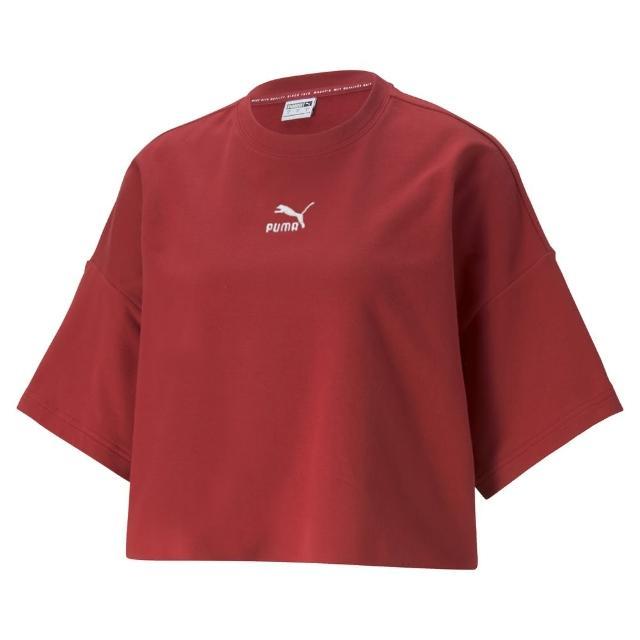 【PUMA官方旗艦】流行系列Classics不收邊短袖T恤 女性 53253922