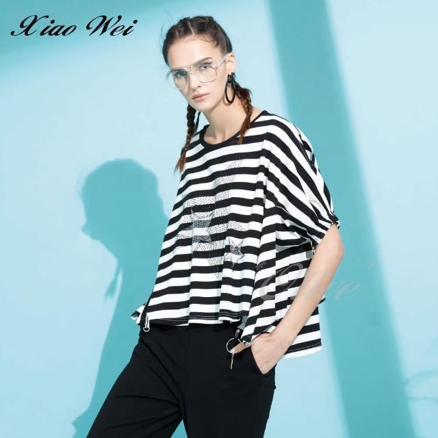 【CHENG DA】專櫃精品春夏款時尚流行短袖上衣(NO.513033)