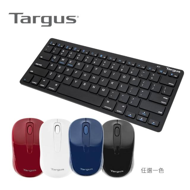 【Targus】無線光學滑鼠(AMW600)+無線藍芽鍵盤(AKB55)
