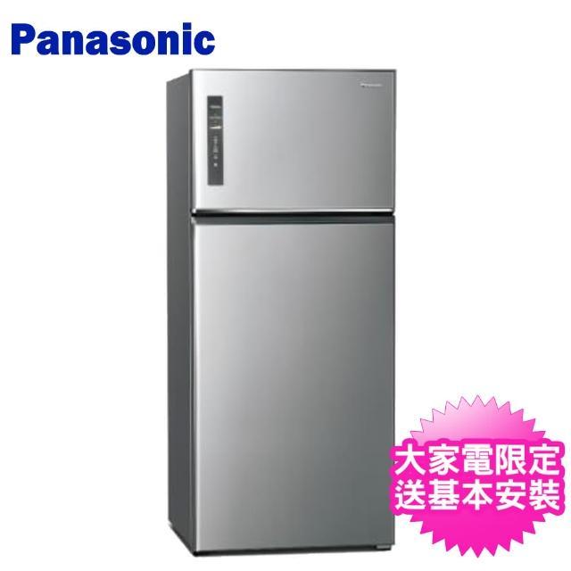 【Panasonic 國際牌】579L一級能效智慧節能雙門變頻冰箱(NR-B581TV-S)