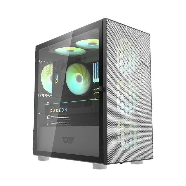 【darkFlash】DLM21 Mesh M-ATX 電腦機殼.機箱 網孔版-白(DF01-0049)