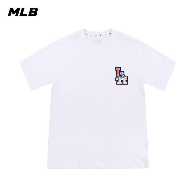 【MLB】短袖T恤 棕梠樹圖案Logo 洛杉磯道奇隊(31TSX2131-07W)