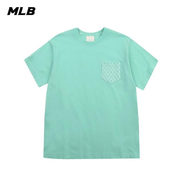 【MLB】短袖T恤 老花口袋系列 Monogram 洛杉磯道奇隊(31TSM3131-07T)