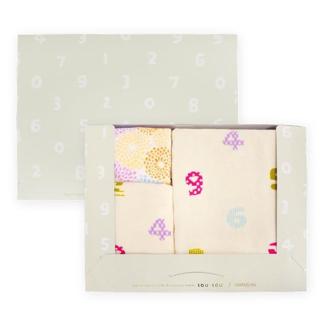 【Marushin 丸真】SOU SOU京都新和風洗毛浴3件組禮盒(丸真)