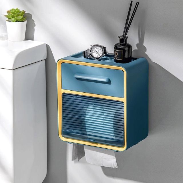 【AOTTO】口罩 衛生紙收納盒(口罩 濕紙巾 收納)